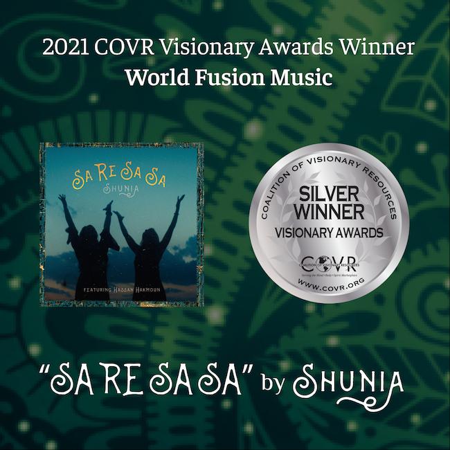 2021 COVR Visionary Awards Winner: World Fusion Music